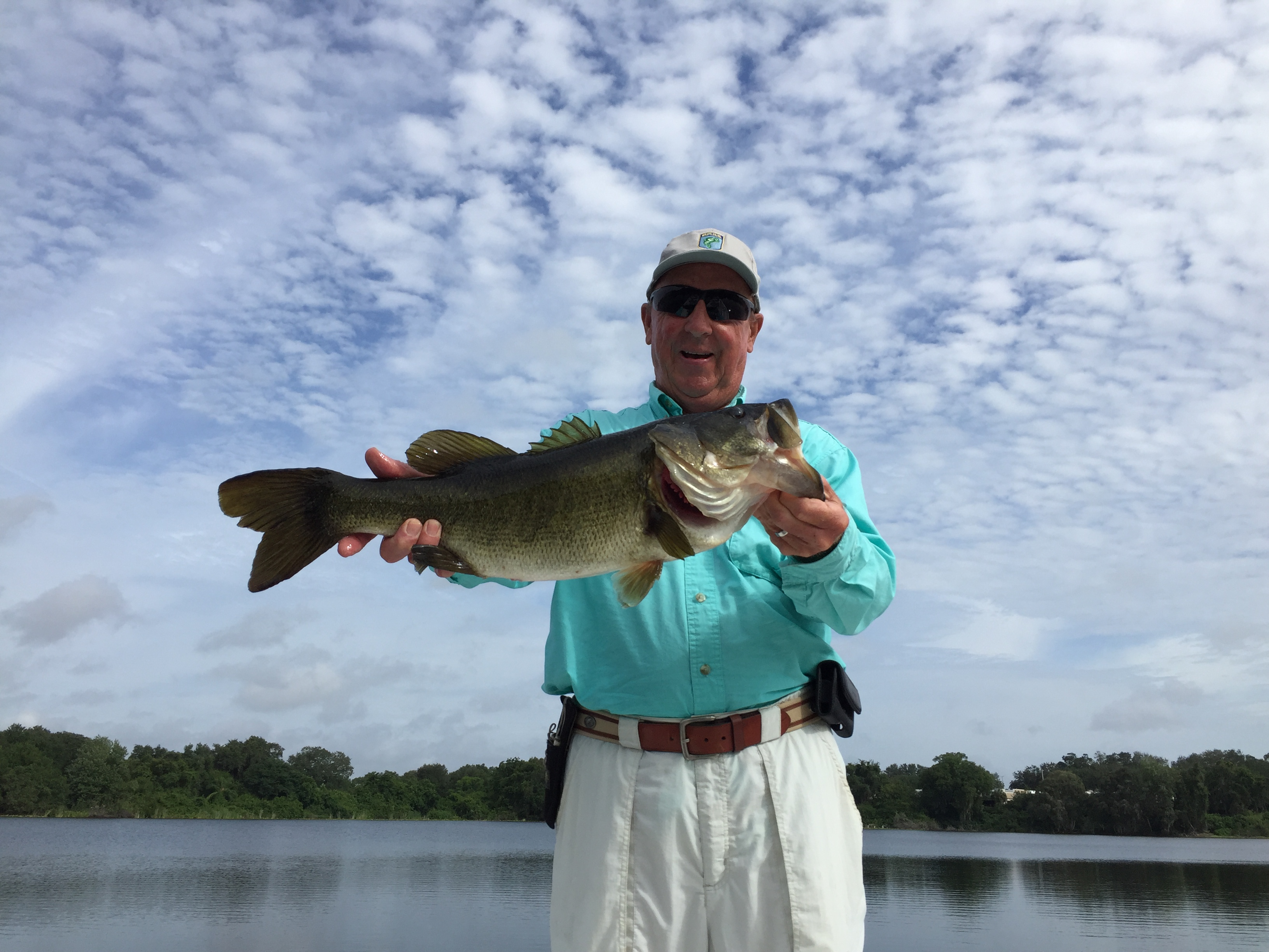 Tmc guide services central florida winter haven for Bass fishing disney world